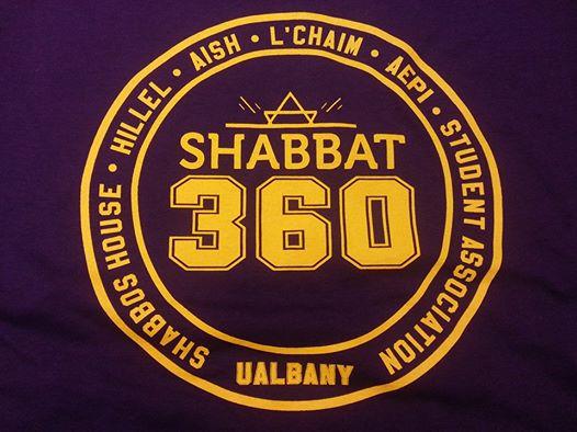 UAlbanyShabbat360Tshirt
